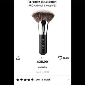 Sephora Pro Airbrush Sweep #53 Brush. Brand New!